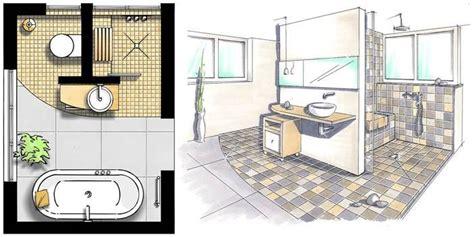 badezimmer lüftung kleine b 228 der vorwandinstallation grundriss 228 ndern foto