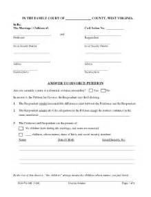 divorce summons template south africa bill of sale form west virginia answer to divorce petition