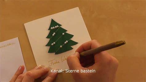 türkranz weihnachten selber machen weihnachtskarten basteln weihnachtsgeschenke selber
