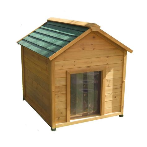 x large dog houses shop x large insulated cedar dog house at lowes com