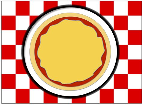 pizza template pizza pizza place mat