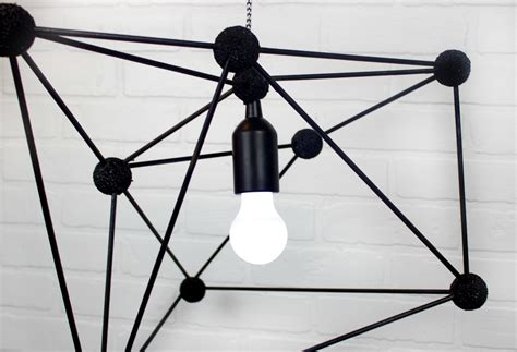 diy geometric pendant light diy geometric pendant l a craft in your day