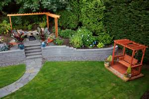 Retaining wall ideas landscape contemporary with backyard living wall