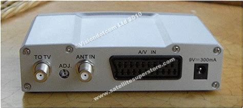Multi Channel Rf Modulator Uhf 4 Av Input uhf modulator