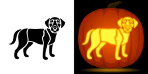 golden retriever pumpkin stencil free printables at museprintables
