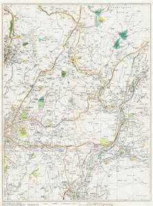 map of oldham oldham e shaw e area map lancashire 1934 sheet 26 ebay