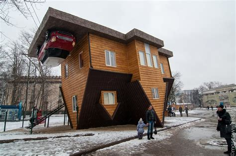 upside down house moscow upside down house slavorum