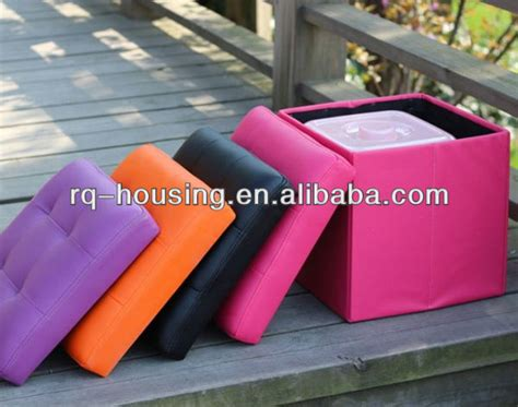 Colorful Storage Ottomans Collapsible Storage Ottoman Purple Storage Ottoman Colorful Storage Ottoman View Purple Storage