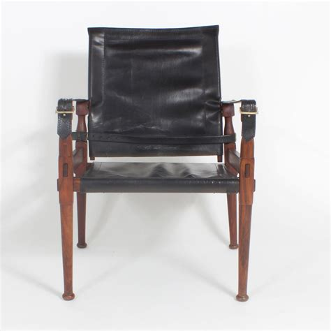 Bros H 31 peshawar caign or safari chairs and ottoman for sale at 1stdibs