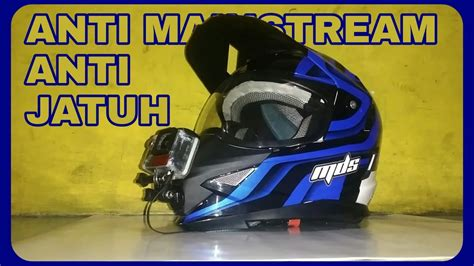 Mds Victory Solid By Aneka Helmet harga jual helm mds unboxing helm mds superpro supermoto