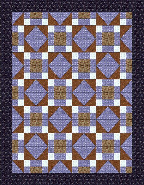 Railroad Quilt Block Pattern by Chock A Block Quilt Blocks Underground Railroad