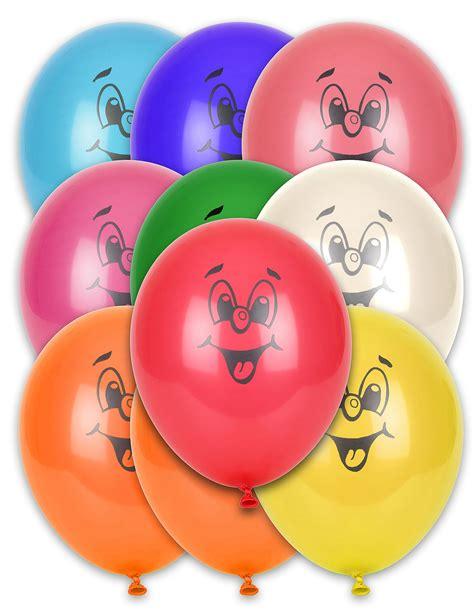 Lu Proji Mio Smile 10 palloncini multicolor smile
