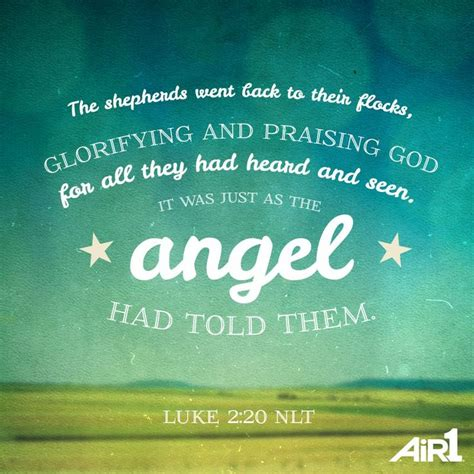 angel christmas quotes from bible