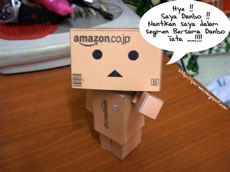 membuat robot menggunakan kotak meet danbo reminiscence