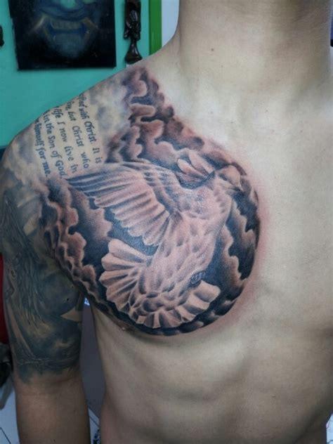 dove tattoos  clouds