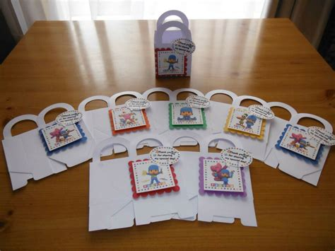 pocoyo boxes birthday party favors goody bags