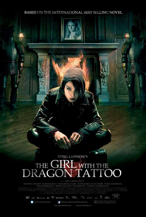 dragon tattoo us movie the girl with the dragon tattoo posters filmofilia