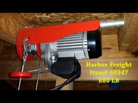 electric boat winch harbor freight part 1 electric utility hoist engine hoist gearbox bu