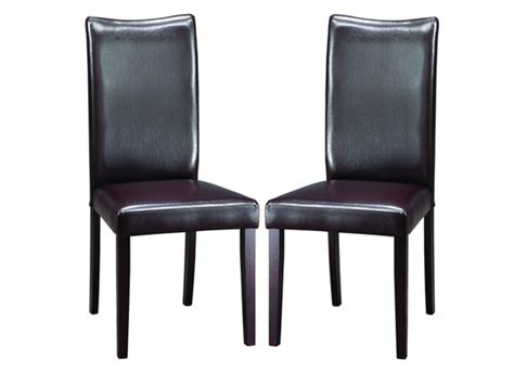 Two Chairs by Baxton Studio Modern Dining Chairs