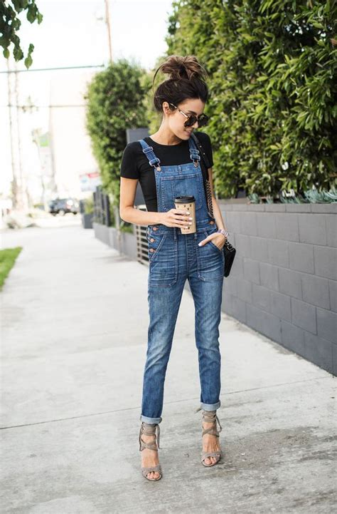 Overall T Shirt 5 ways to layer with a t shirt this fall glam radar