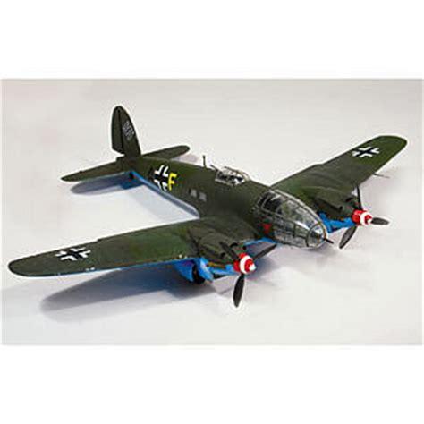 heinkel he111 military aircraft plane plastic model