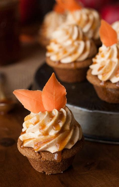 Cupcake Of The Week Pumpkin Chiffon Mousse With Gingersnaps by Best 25 Autumn Cupcakes Ideas On Cherry