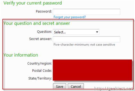 windows live reset password secret question how to hack windows live id hotmail passwords how to