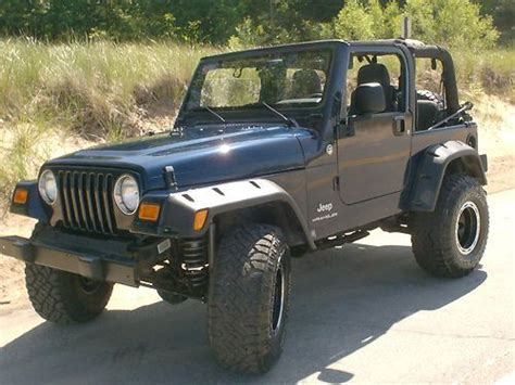 Used Jeep Wrangler 2006 Find Used 2006 Lifted Jeep Wrangler In Muskegon Michigan