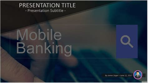 ppt templates for banking free mobile banking powerpoint 50825 sagefox powerpoint