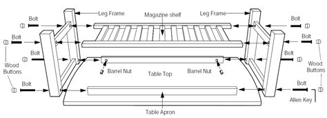 Parts Of A Desk by Assembly For Corona Table How To Assemble