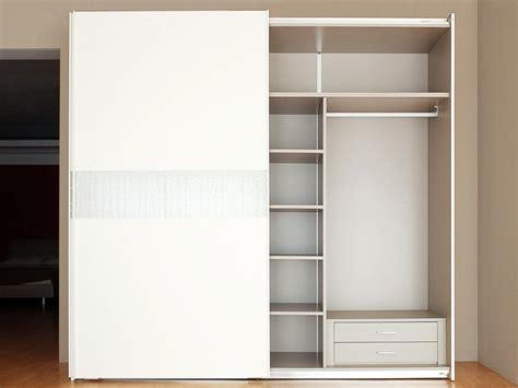 armadio cassettiera armadio 2 ante scorrevoli bianco frassino con cassettiera