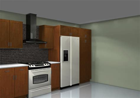fridge kitchen cabinet choosing the ideal fridge location for your kitchen