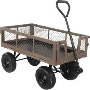 Decorative Jacks Ace 750 Lbs Capacity Garden Amp Farm Utility Cart Lawn