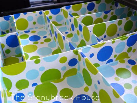 Cereal Box Drawer Organizer by Diy Cereal Box Drawer Organizer The Stonybrook House