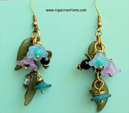 how to make lucite jewelry lovely light lucite flower earrings jewelry journal