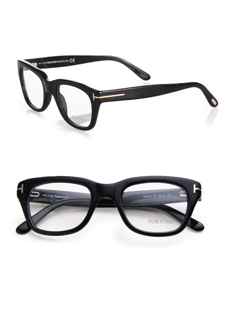 Glasses Emporio Armani 5178 A Bahan tom ford 5178 square optical frames in black for lyst