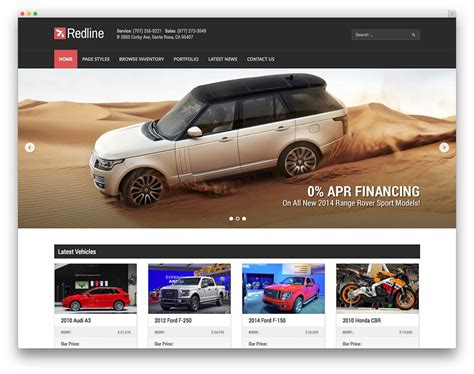 car dealer email templates best car dealer themes for automotive websites