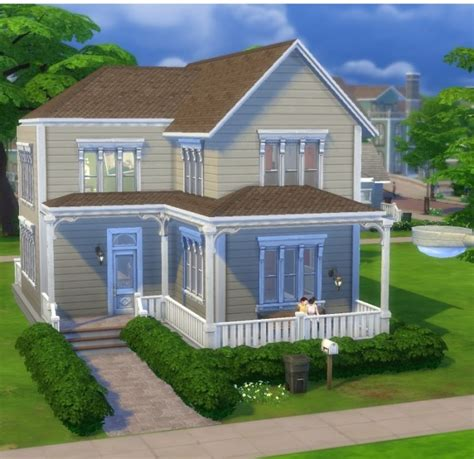 4 family homes cozy family home by mettesims at mod the sims 187 sims 4 updates