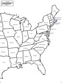 large map of east coast usa east coast of the united states free map free blank map