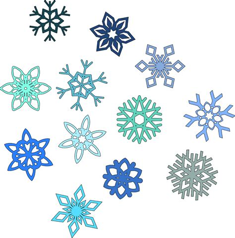 snowflake clipart free pictures of snowflakes cliparts co