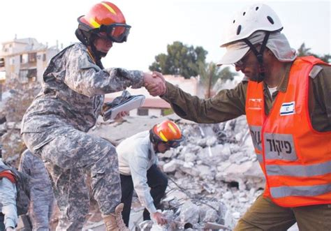 earthquake drill palestinians jordanians and israelis team up to combat