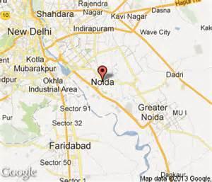 Noida India Map by Noida Hotels Noida Hotel Motel Amp Travel Guide India