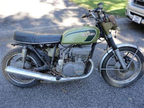 Suzuki Parts For Sale 1973 Suzuki Gt550 Two Stroke Parts Bike For Sale On