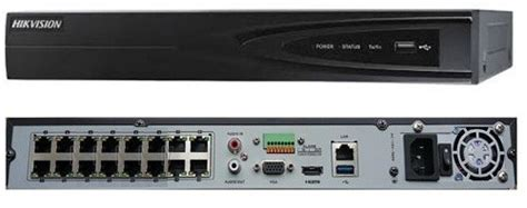 Nvr Edge 16 Channel H264 hikvision nvr 16 channel h264 up to 6mp integrated 16