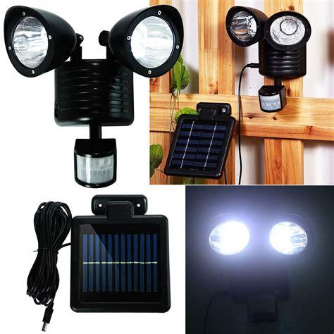Outdoor Garage Lights Motion Sensor New 22 Led Solar Powered Motion Sensor Pir Security Light