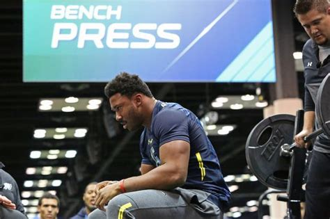 strongest nfl player bench press who were the strongest players at the 2017 nfl scouting