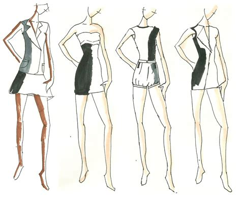 Sketches Clothes by Fashion Sketches Fashion Design Sketches
