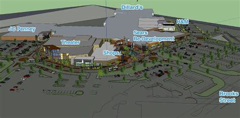 layout of southgate mall carmike to build 900 seat dine in movie theater at