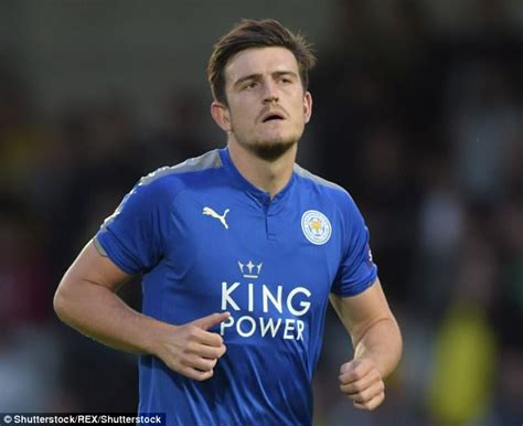 harry maguire harry maguire s leicester move fuelled by