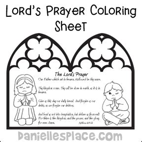 The Lord S Prayer Board Book prayer bible crafts and activities